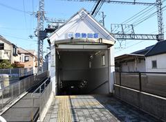 伊勢田駅前写真